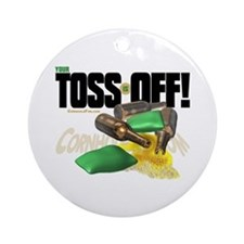 Toss Off! Ornament (Round)