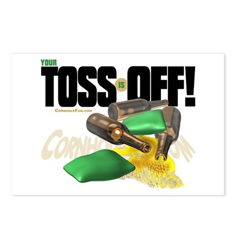 Toss Off! Postcards (Package of 8)