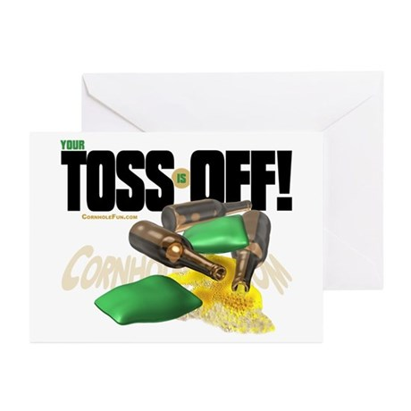 Toss Off! Greeting Cards (Pk of 10)