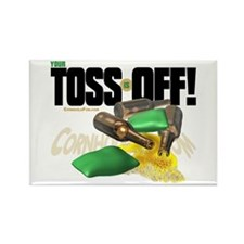 Toss Off! Rectangle Magnet (100 pack)