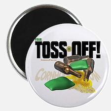 """Toss Off! 2.25"""" Magnet (10 pack)"""