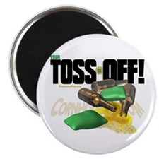 "Toss Off! 2.25"" Magnet (100 pack)"