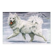 Samoyed Smile Postcards (Package of 8)