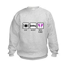 Eat Sleep Ren-Faire Sweatshirt