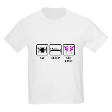 Eat Sleep Ren-Faire T-Shirt