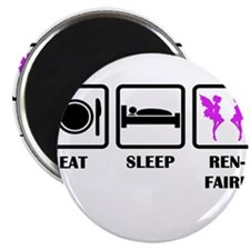 Eat Sleep Ren-Faire Magnets