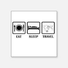 Eat Sleep Travel Sticker