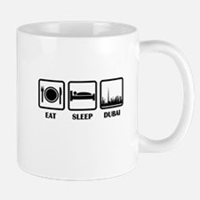 Eat Sleep Dubai Mugs