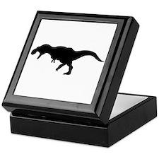 T.rex Silhouette Keepsake Box