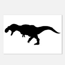 T.rex Silhouette Postcards (Package of 8)