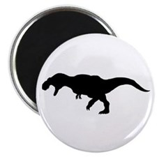 """T.rex Silhouette 2.25"""" Magnet (100 pack)"""