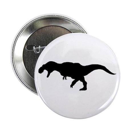 T.rex Silhouette Button