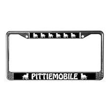 Pittiemobile License Plate Frame