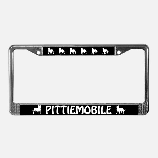 Pittiemobile License Plate Frame