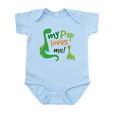 My Pop Loves Me Infant Bodysuit