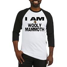 I AM WOOLY MAMMOTH Baseball Jersey