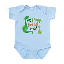 My Poppi Loves Me Infant Bodysuit