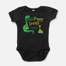 My Poppy Loves Me Baby Bodysuit
