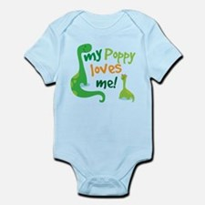 My Poppy Loves Me Infant Bodysuit