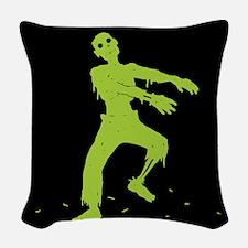 Zombie Woven Throw Pillow