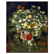 Van Gogh - Bouquet of Flowers in a Vase Canvas Art