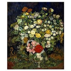 Van Gogh - Bouquet of Flowers in a Vase Poster