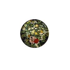 Van Gogh - Bouquet of Flowers in a Vas Mini Button