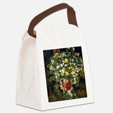 Van Gogh - Bouquet of Flowers in  Canvas Lunch Bag