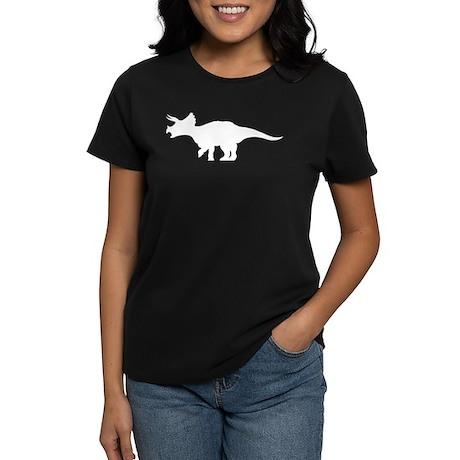 Triceratops Women's Dark T-Shirt