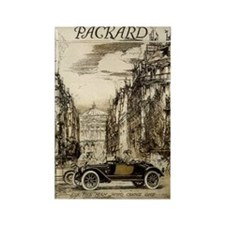 Packard Ad 1 Rectangle Magnet