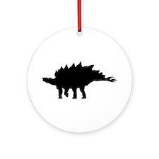 Stegosaurus Ornament (Round)