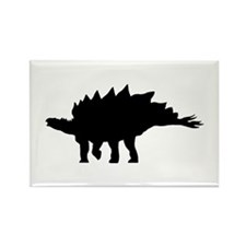 Stegosaurus Rectangle Magnet