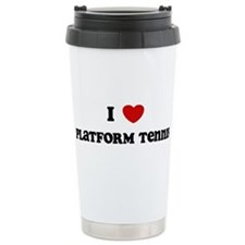 Cute Tennis designer Travel Mug