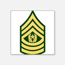 "Cute Major league soldier infidel military Square Sticker 3"" x 3"""
