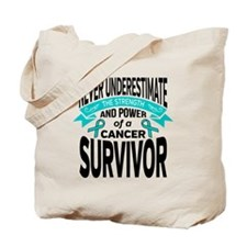 Gynecologic Cancer Strength Tote Bag