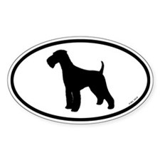 Euro Airedale Terrier Bumper Stickers