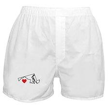 I Love Maryland Boxer Shorts
