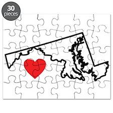 I Love Maryland Puzzle