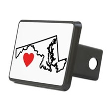 I Love Maryland Hitch Cover
