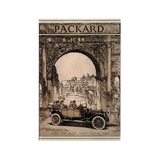 Packard Ad 2 Rectangle Magnet