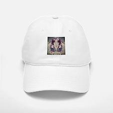 vintage garden twin girls Baseball Baseball Cap