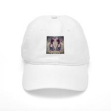 vintage garden twin girls Baseball Cap
