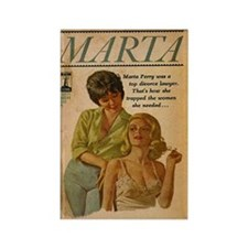 Marta Rectangle Magnet