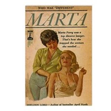 Marta Postcards (Package of 8)