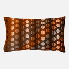 Copper Dots Pillow Case