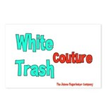 White Trash Couture (Brand) Postcards (Package of