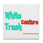 White Trash Couture (Brand) Tile Coaster