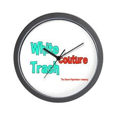 White Trash Couture (Brand) Wall Clock
