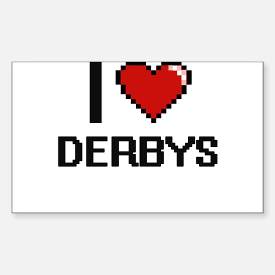 I love Derbys Decal