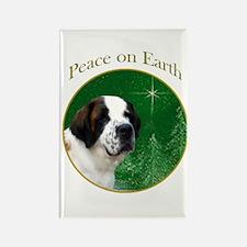 Saint Peace Rectangle Magnet
